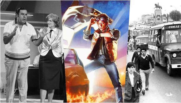 """¿Cómo era el Perú en 1985, año de estreno de """"Volver al futuro""""? (Fotos: Archivo de El Comercio)"""