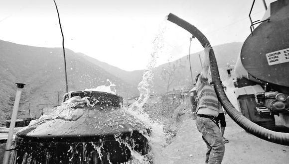 ¿Cuánto cuesta el agua a los limeños que no tienen el servicio?