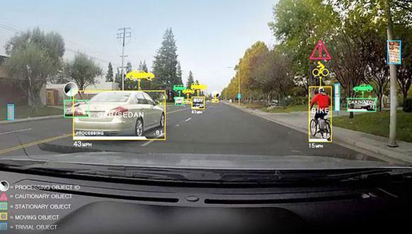 Presentan tecnología que permite a los autos reconocer objetos
