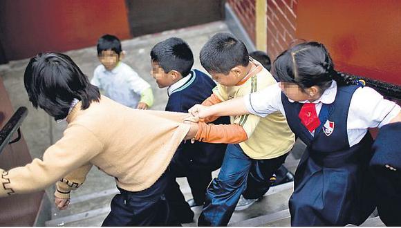 Al menos 30 niños al día son víctimas de 'bullying' en el Perú