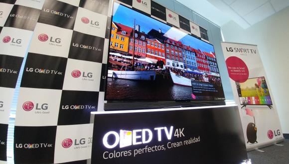 LG presentó sus televisores con tecnología HDR