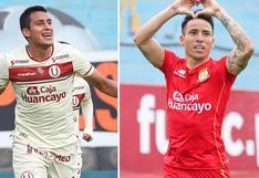 Universitario vs. Sport Huancayo en vivo: a qué hora y dónde ver el partido por TV