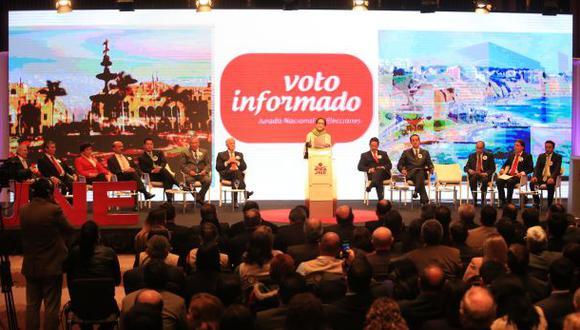 Las últimas frases de los candidatos a la Alcaldía de Lima