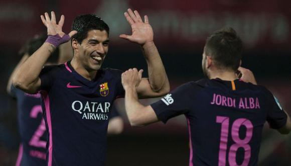 Barcelona goleó 4-1 a Granada en Los Cármenes por la Liga