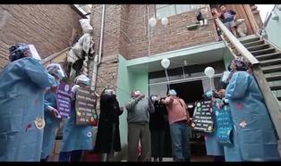 Lambayeque: elevan globos al cielo en nombre de familiares fallecidos por COVID-19