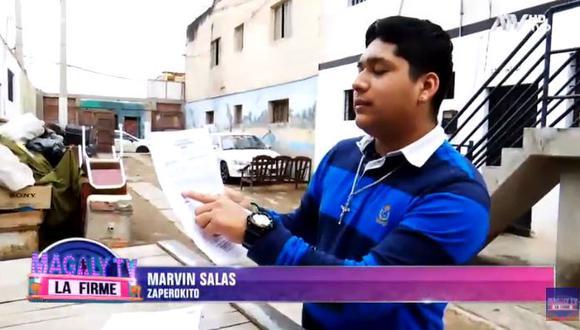 """Marvin Salas, integrante de """"Zaperoko"""", responsabilizó a Toño Centella de estar detrás de amenazas de muerte en su contra. (Foto: captura de video)"""