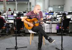 Una sesión acústica con Manu Vera Tudela [VIDEOS]