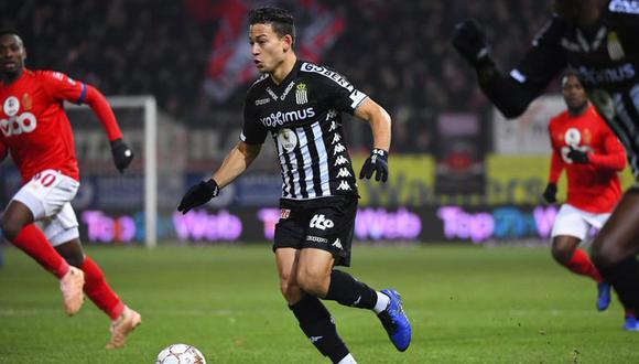 Benavente durante su etapa en Sporting Charleroi. (Foto: Le Soir)