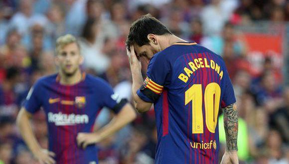 La tragedia rondó a la familia de Lionel Messi. Mientras el ariete albiceleste concentraba con Barcelona, su hermano sufría un accidente en Argentina. (Foto: Agencias)