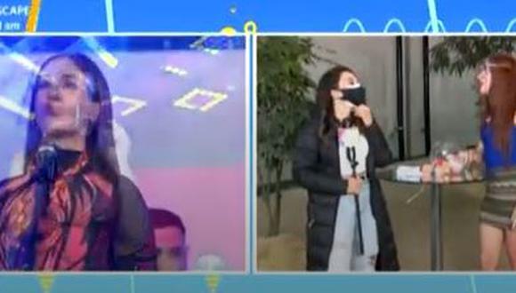 """""""La Uchulú"""" dice que Tepha Loza es su persona menos favorita de la TV. (Foto: captura de video)"""