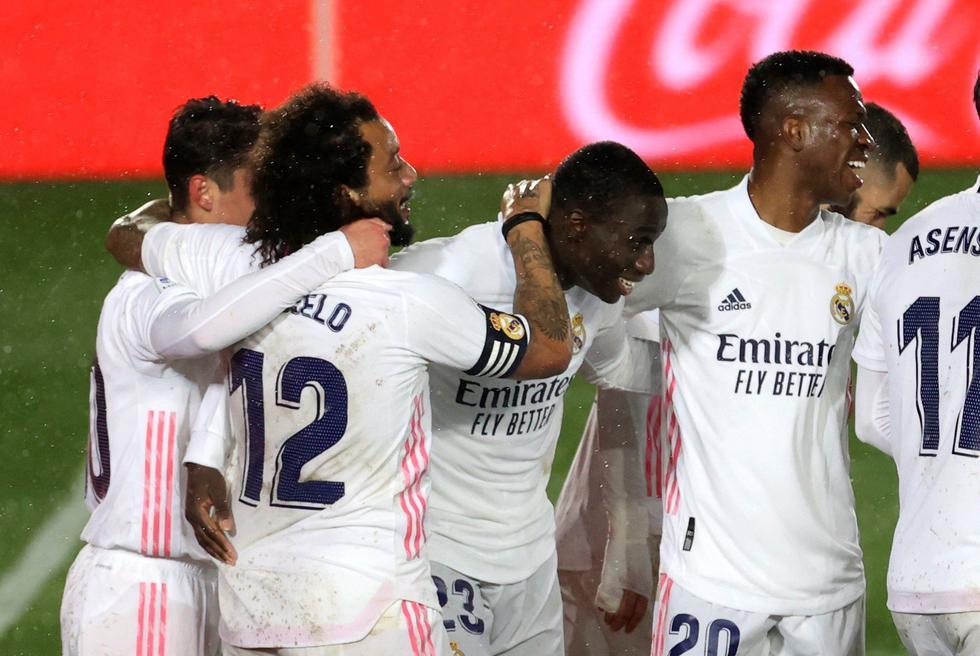 Real Madrid venció al Getafe por LaLiga Santander