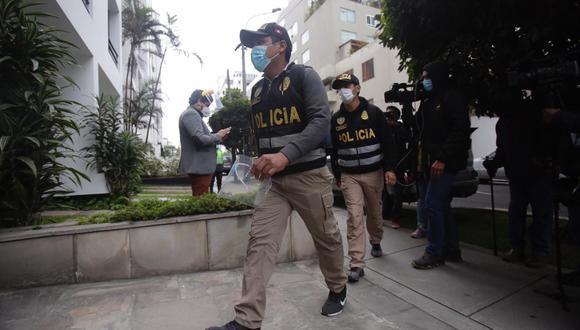 La fiscalía detuvo a varios exfuncionarios el pasado viernes. (Foto: GEC)