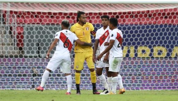 La selección peruana sumó siete puntos en cuatro partidos de la Copa América. (Foto: Jesús Saucedo / GEC)