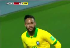 Perú vs. Brasil: Neymar anotó el 4-2 para la Canarinha en el Estadio Nacional | VIDEO