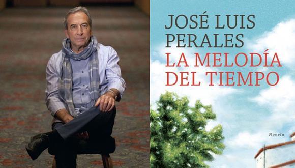 """José Luis Perales lanza primera novela """"La melodía del tiempo"""""""