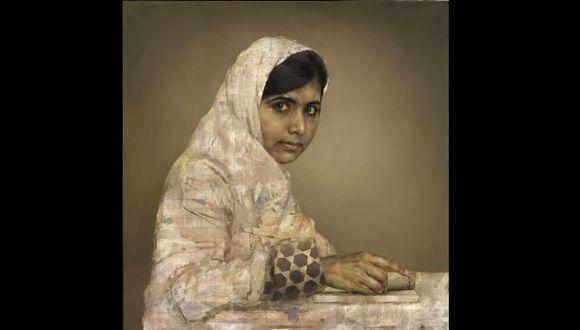 Subastan retrato de Malala en más de US$100.000