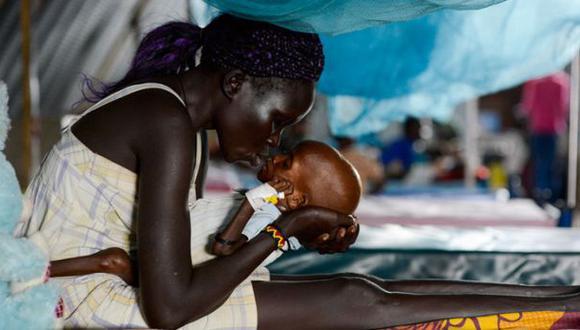 Hambruna, la consecuencia de los conflictos armados en África