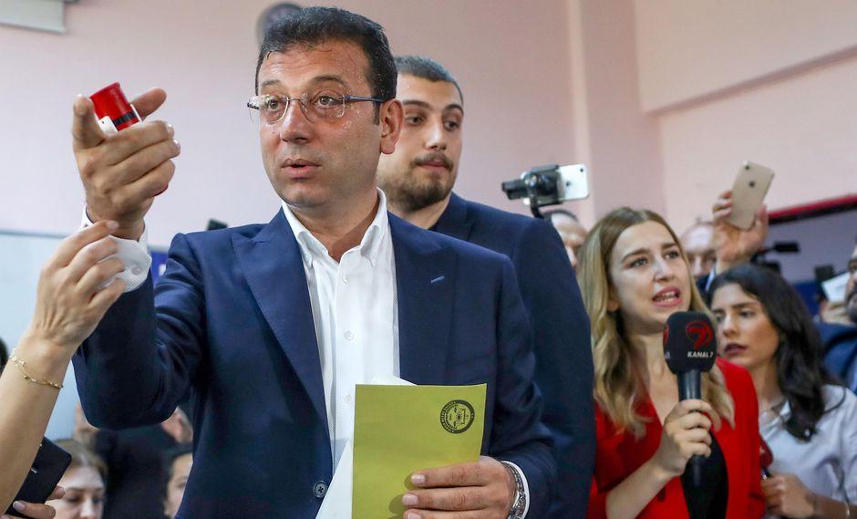 Elecciones en Estambul: Ekrem Imamoglu gana las municipales al derrotar al candidato de Erdogan, presidente de Turquía. (EFE).