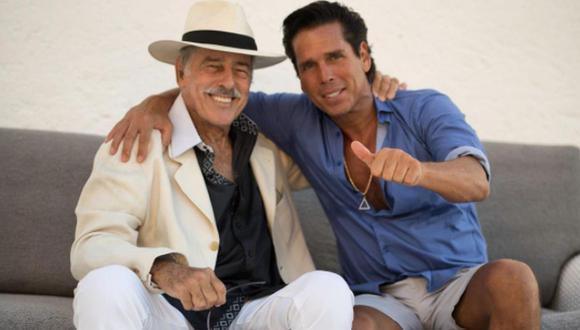 Roberto Palazuelos y Andrés García son buenos amigos desde hace muchos años. De hecho, el llamado 'Diamante Negro' también funge como su abogado (Foto: Roberto Palazuelos / Instagram)