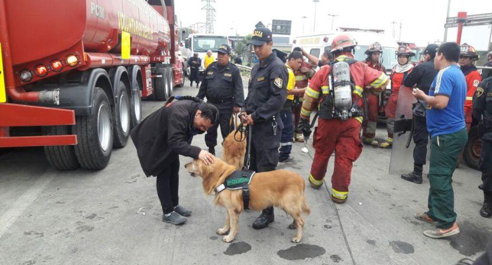 Incendio en El Agustino: bomberos siguen trabajos tras 12 horas - 16