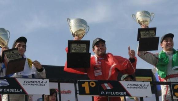 Rodrigo Pflucker, el peruano que lucha en la F4 Sudamericana