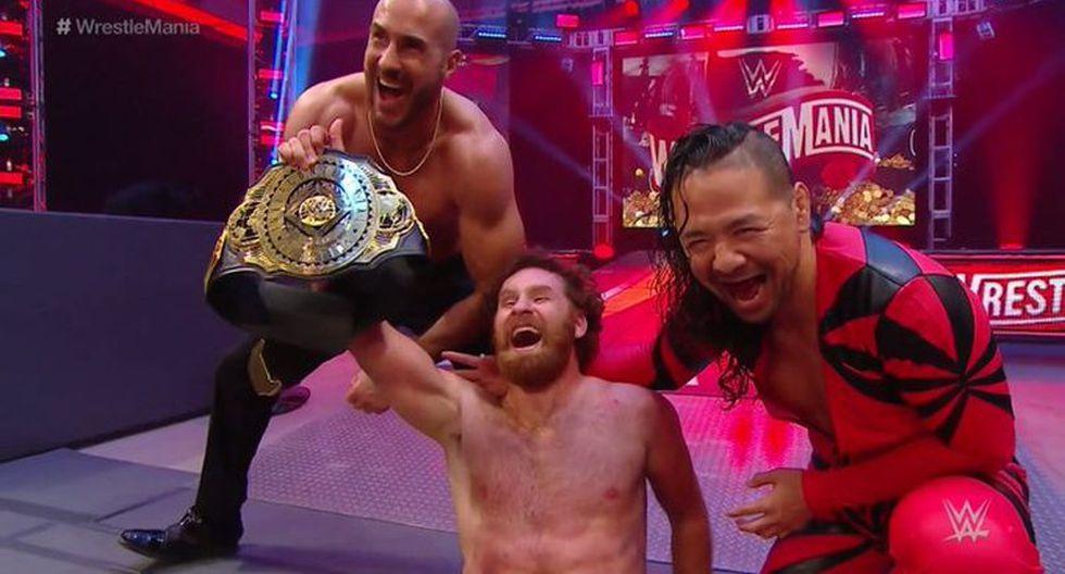 Sami Zayn venció a Daniel Bryan y conservó el título Intercontinental. (WWE)