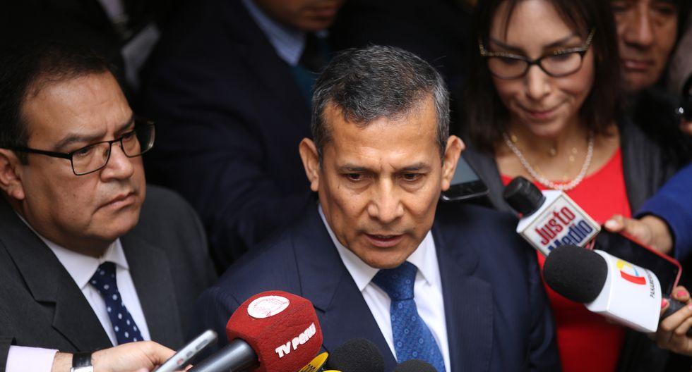 El ex presidente Ollanta Humala se mostró a favor del planteamiento de cuestión de confianza del jefe de Estado, Martín Vizcarra. (Foto: Congreso)