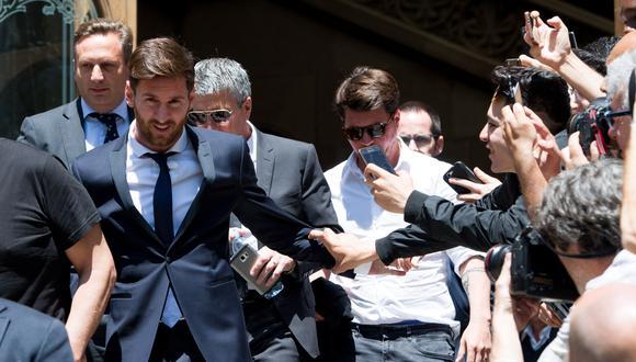 Lionel Messi debe definir su salida del Barcelona en estos días. (Foto: Agencias)