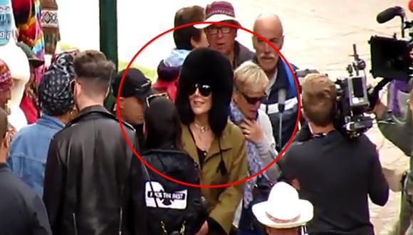 Kylie y Kris Jenner graban reality a su paso por Cusco [VIDEO]