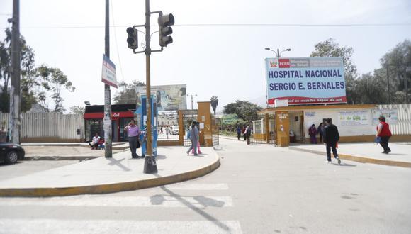 El hospital Sergio Bernales está ubicado en la zona de Collique, en Comas. (GEC)