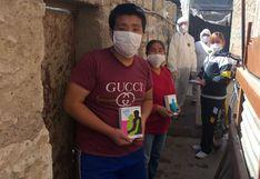 Arequipa: profesora hace colecta y compra audífonos para alumno que sufre de sordera