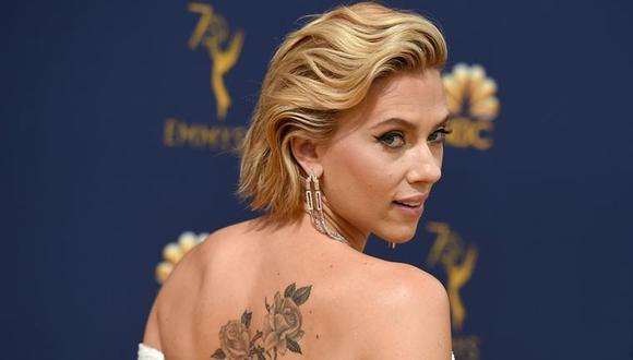"""Scarlett Johansson está nominada a los premios Oscar en dos categorías por dos películas distintas: """"Jojo Rabbit"""" y """"Marriage Story"""" (Foto: AFP)"""