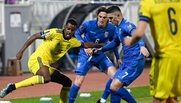 España recibirá este miércoles a Kosovo, por la fecha 3 de las Eliminatorias Qatar 2022. (Foto: AFP)