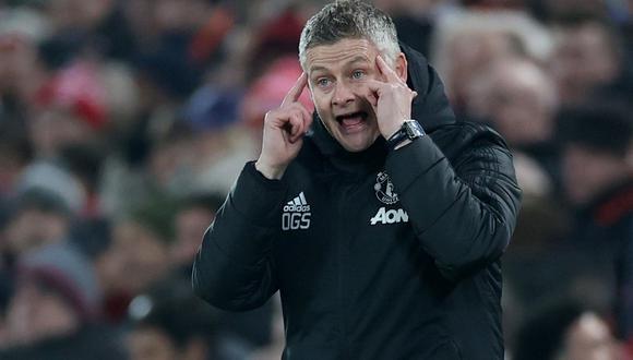 Solskjaer de 48 años fue nombrado técnico interino el 2018. [Foto: AFP]