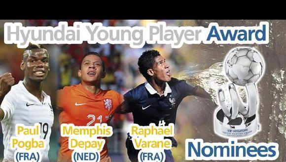 Brasil 2014: los nominados al mejor jugador joven del Mundial
