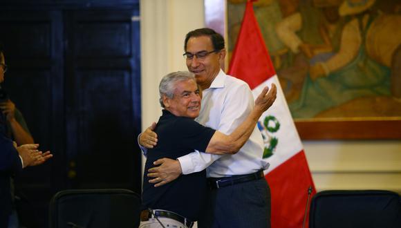 """""""La prisión preliminar a la que se ha sometido a su ex brazo derecho César Villanueva no es moco de pavo"""". (Foto: GEC)"""