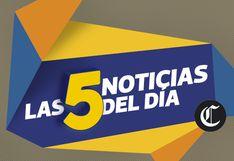 Últimas noticias del Perú y el Mundo, este viernes 06 de diciembre del 2019
