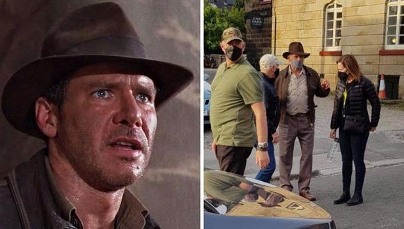 """Harrison Ford volverá a darle vida al arqueólogo en """"Indiana Jones 5"""". (Foto: Twitter @IndianaJones_ch / Frederic J. Brown / AFP )"""