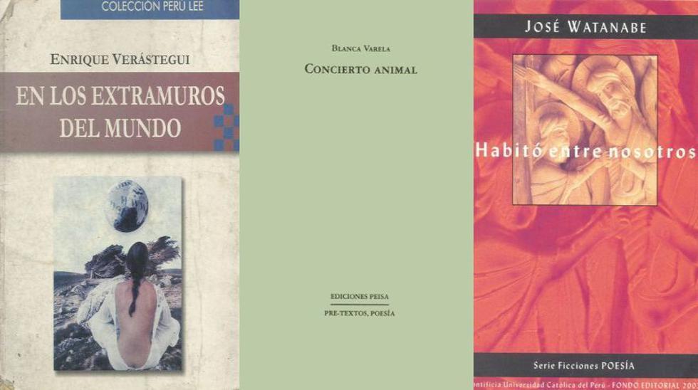Diez libros de poesía peruana que todo adolescente debe leer.