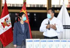 PNP recibirá 650 mil mascarillas donadas por el Gobierno de China