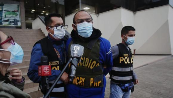 César Óscar La Barrera Martínez era buscado por la policía por el feminicidio de la empresaria Jenny Rojas Aranda y de la hija de ella, de 12 años. (Foto: César Grados/@photo.gec)