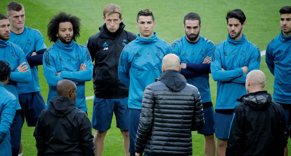 Real Madrid vs. Juventus: Zidane mantiene en suspenso su once titular para duelo de ida. (Foto: AFP)