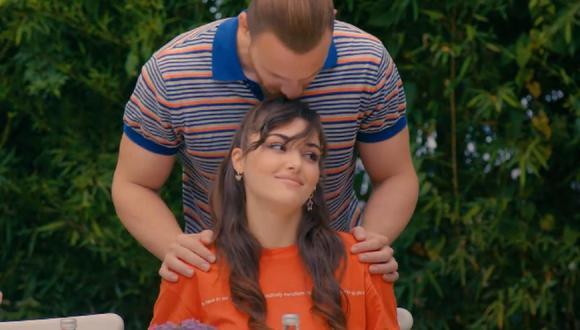 Eda y Serkan deben fingir ser una pareja feliz por el bien de Kiraz (Foto: Love Is in the Air / MF Yapım)