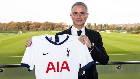 José Mourinho será entrenador de Tottenham hasta el final de la temporada 2022-23. (Foto: Tottenham)