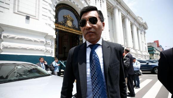 El Ministerio Público también investigará el caso del congresista Moisés Mamani, a fin de aclarar el hecho.(Foto: El Comercio)