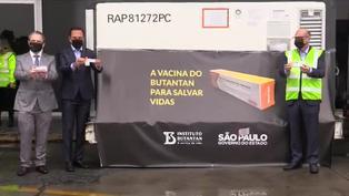 Brasil: primer lote de la vacuna china contra el COVID-19 llega a Sao Paulo