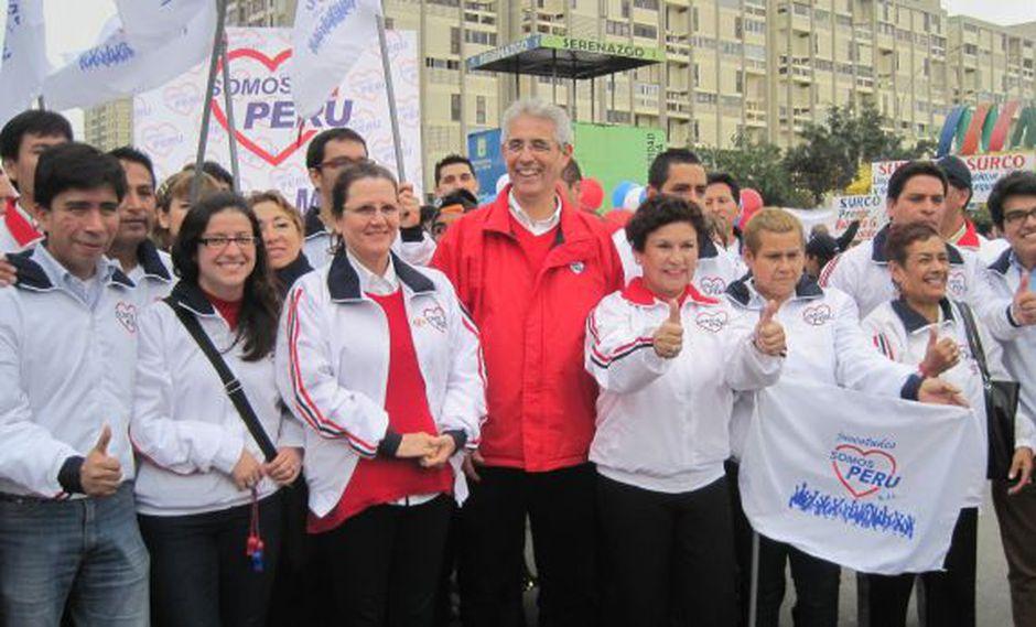 Somos Perú intenta volver a tener representación parlamentaria en el Congreso de la República tras no obtener ninguna curul el 2016. Fernando Andrade fue electo el 2011 bajo una alianza con el hoy desaparecido Perú Posible. (Foto: GEC)