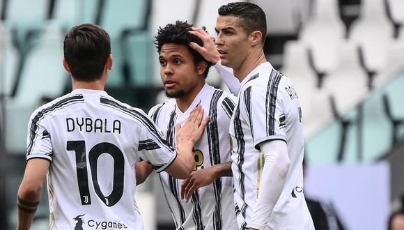 Juventus continúa ganando en Serie A y esta vez derrotó a Genoa | Foto: AFP
