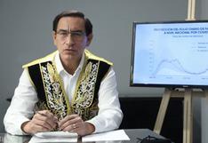 """Martín Vizcarra dice que """"no pueden"""" realizarse elecciones en abril y pide postergarlas para mayo"""