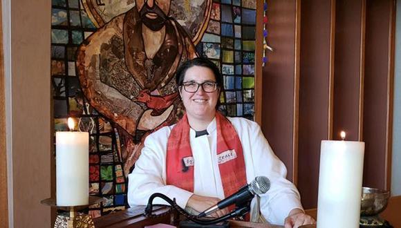 Megan Rohrer, quien desde 2014 era pastora de una congregación luterana en Los Ángeles, ha sido elegida por 209 votos a favor, por tan solo dos votos más que el reverendo Jeff Johnson. (Foto: Facebook).